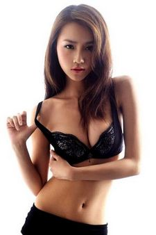 Hot asian in this amazing photo.